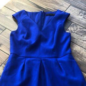 Blue limited dress